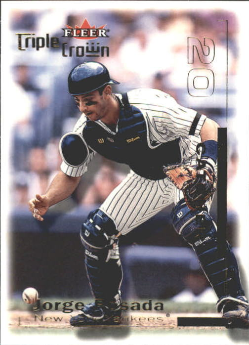 2001 Fleer Triple Crown #250 Jorge Posada