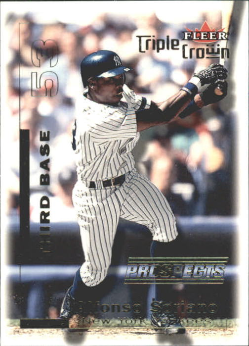 2001 Fleer Triple Crown #263 Alfonso Soriano
