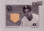 2001 Greats of the Game Feel the Game Classics #1 Luis Aparicio Bat SP/200