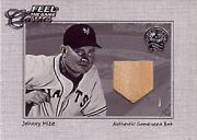 2001 Greats of the Game Feel the Game Classics #13 Johnny Mize Bat