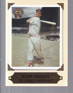 2001 Greats of the Game Retrospection #RC2 Stan Musial