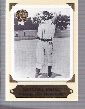 2001 Greats of the Game Retrospection #RC8 Satchel Paige