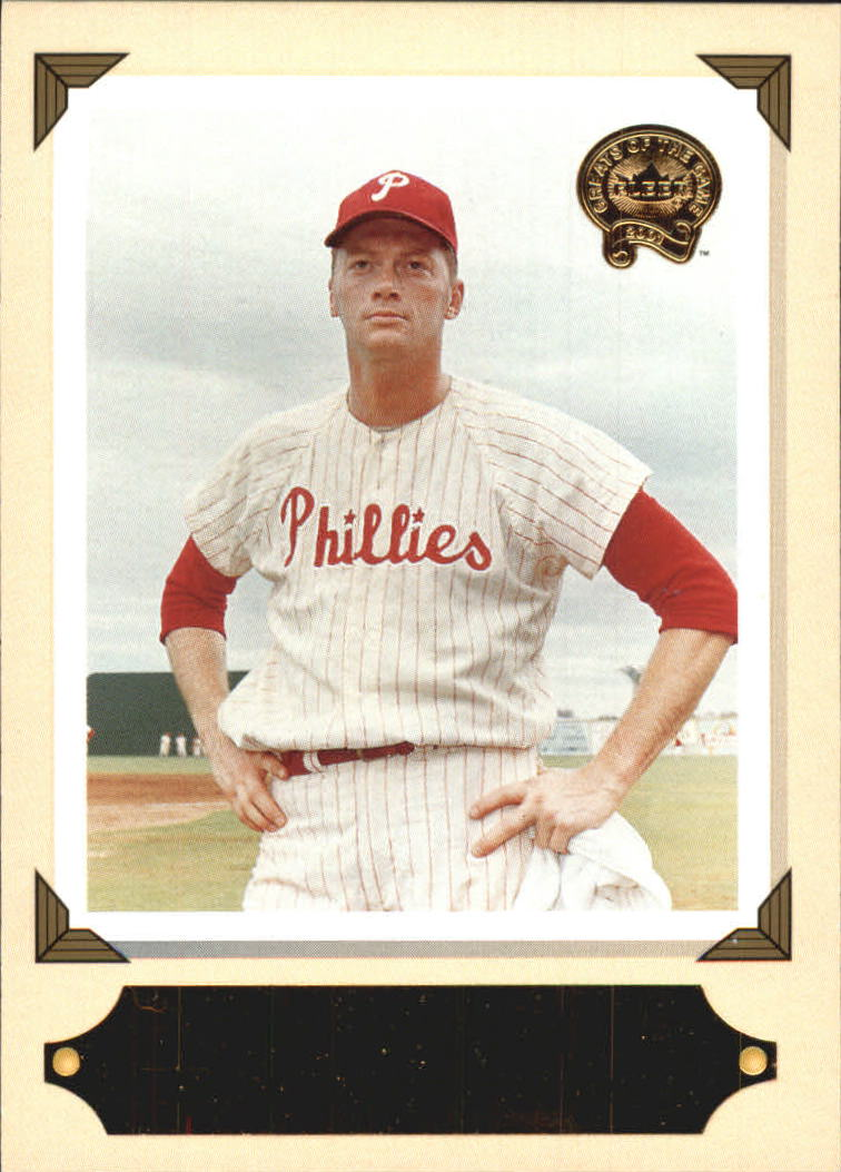 2001 Greats of the Game Retrospection #RC10 Jim Bunning