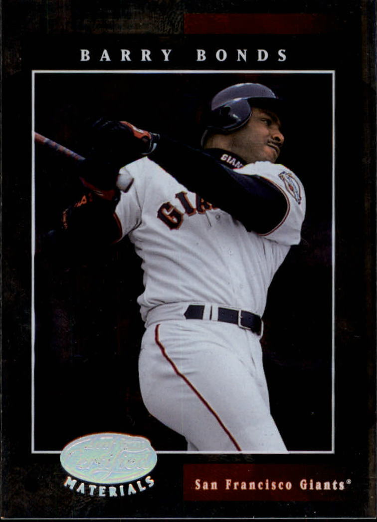 2001 Leaf Certified Materials #2 Barry Bonds