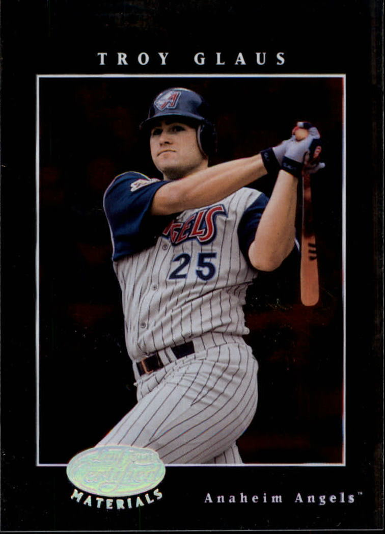 2001 Leaf Certified Materials #6 Troy Glaus