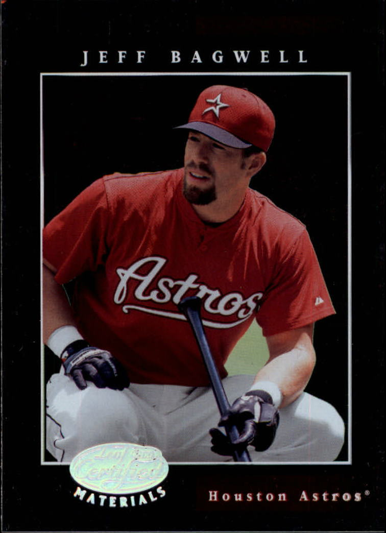 2001 Leaf Certified Materials #10 Jeff Bagwell