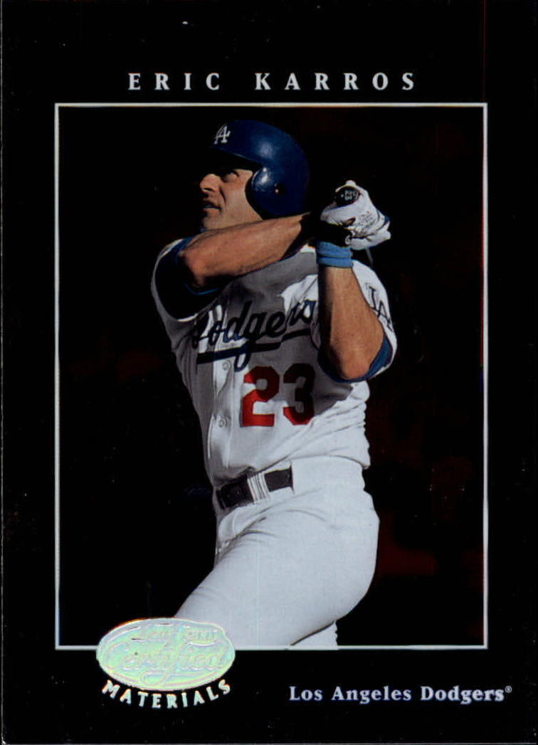 2001 Leaf Certified Materials #11 Eric Karros