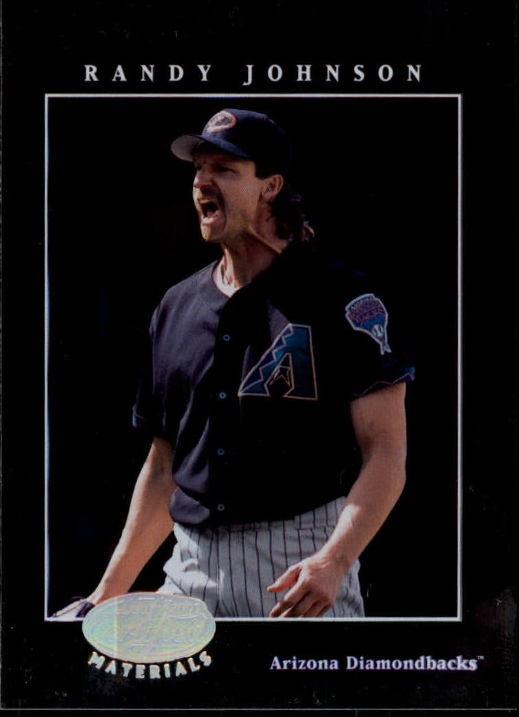 2001 Leaf Certified Materials #19 Randy Johnson
