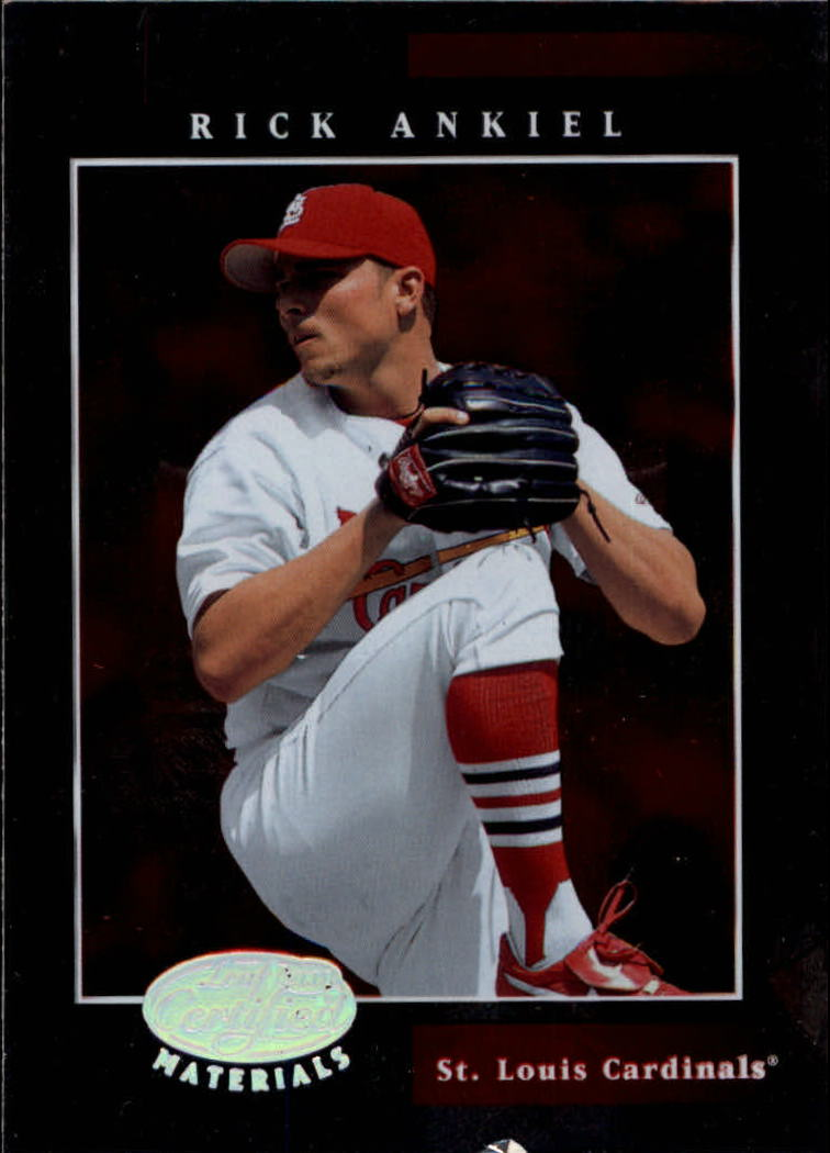 2001 Leaf Certified Materials #20 Rick Ankiel