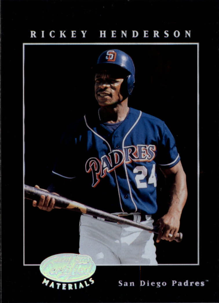2001 Leaf Certified Materials #21 Rickey Henderson
