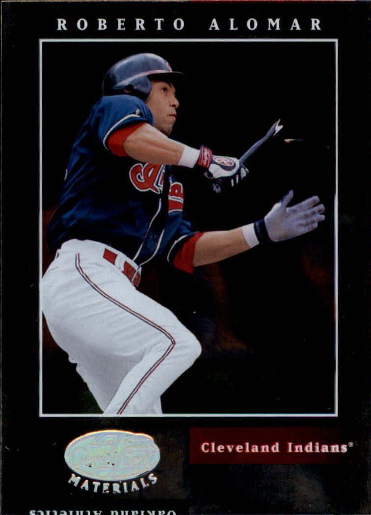 2001 Leaf Certified Materials #27 Roberto Alomar
