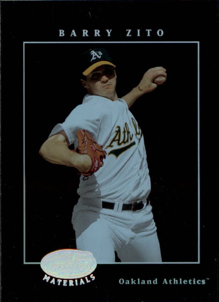 2001 Leaf Certified Materials #28 Barry Zito