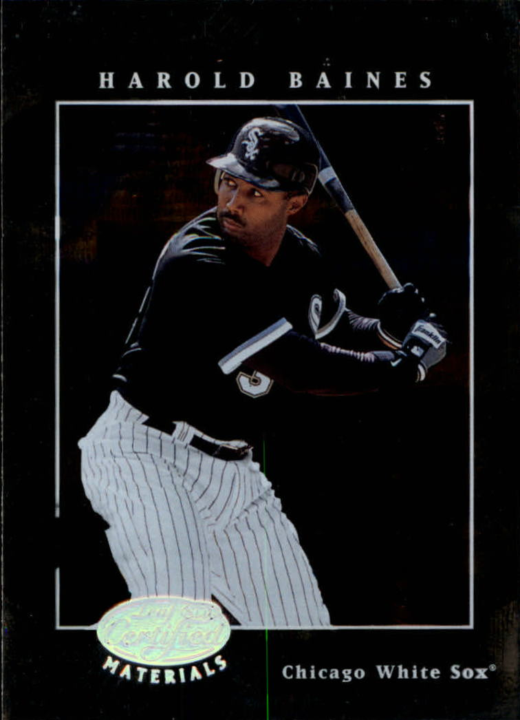 2001 Leaf Certified Materials #30 Harold Baines