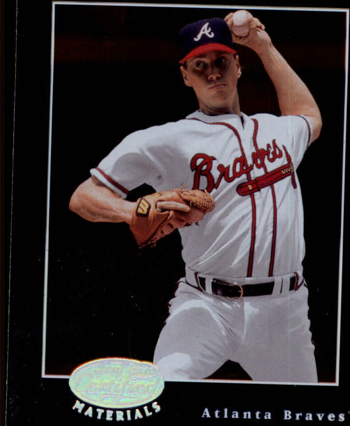 2001 Leaf Certified Materials #36 Tom Glavine