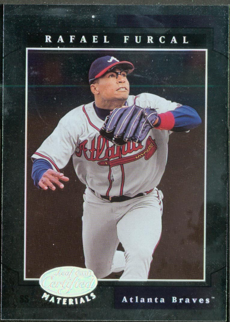 2001 Leaf Certified Materials #44 Rafael Furcal