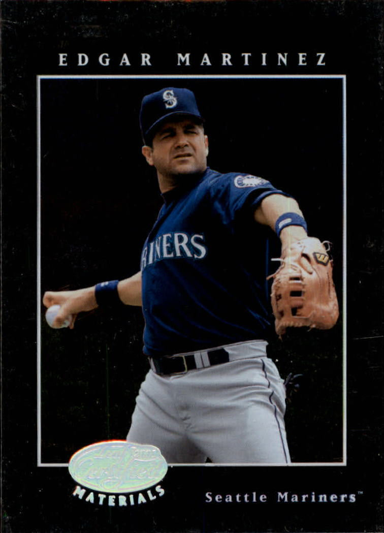 2001 Leaf Certified Materials #53 Edgar Martinez