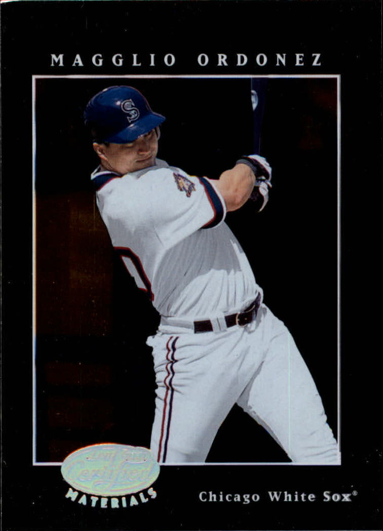 2001 Leaf Certified Materials #54 Magglio Ordonez