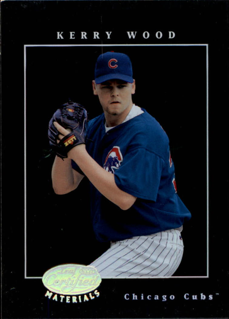 2001 Leaf Certified Materials #55 Kerry Wood