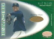 2001 Leaf Certified Materials #126 Jose Mieses FF Fld Glv RC