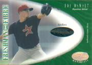 2001 Leaf Certified Materials #127 Roy Oswalt FF Spikes