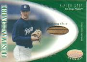 2001 Leaf Certified Materials #129 Xavier Nady FF Fld Glv