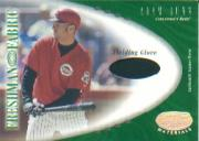 2001 Leaf Certified Materials #138 Adam Dunn FF Fld Glv