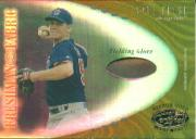 2001 Leaf Certified Materials Mirror Gold #114 Nate Frese FF Fld Glv