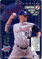 2001 MLB Showdown Unlimited #9 Troy Percival