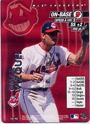 2001 MLB Showdown Unlimited #138 Omar Vizquel
