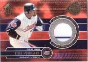 2001 Private Stock Game Gear #7 Mo Vaughn Jsy White