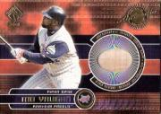2001 Private Stock Game Gear #8 Mo Vaughn Bat