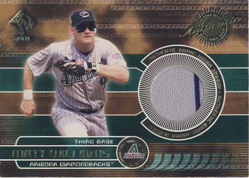2001 Private Stock Game Gear #18 Matt Williams Jsy Grey