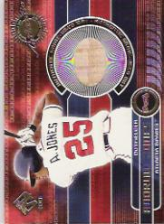 2001 Private Stock Game Gear #23 Andruw Jones Bat