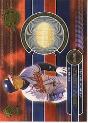 2001 Private Stock Game Gear #27 Javier Lopez Bat
