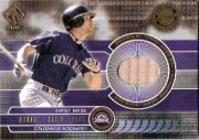 2001 Private Stock Game Gear #61 Todd Helton Bat