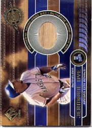 2001 Private Stock Game Gear #85 Jermaine Dye Bat