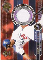 2001 Private Stock Game Gear #89 Adrian Beltre Jsy