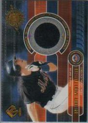 2001 Private Stock Game Gear #120 Robin Ventura Jsy Black Hit