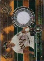 2001 Private Stock Game Gear #125 Eric Chavez Jsy
