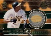 2001 Private Stock Game Gear #138 Miguel Tejada Bat