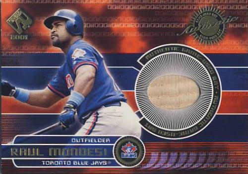2001 Private Stock Game Gear #182 Raul Mondesi Bat