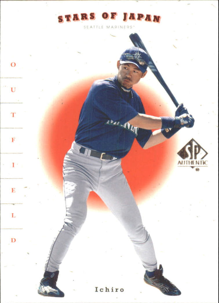 2001 SP Authentic Stars of Japan #RS1 I.Suzuki/T.Shinjo