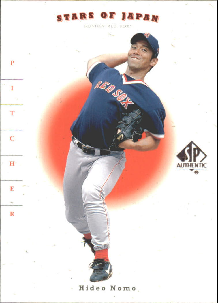 2001 SP Authentic Stars of Japan #RS28 H.Nomo/K.Sasaki