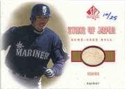 2001 SP Authentic Stars of Japan Game Ball Gold #BBIS Ichiro Suzuki