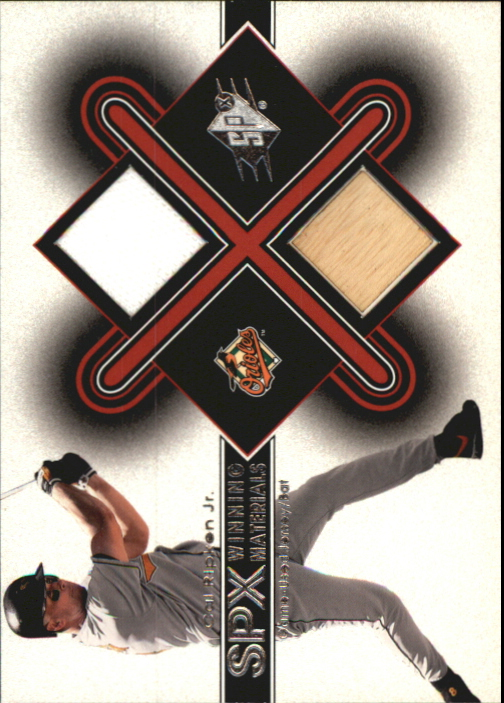 2001 SPx Winning Materials Bat-Jersey #CR Cal Ripken