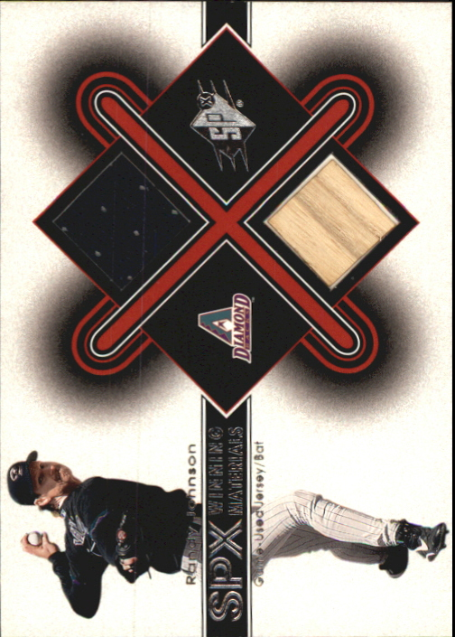 2001 SPx Winning Materials Bat-Jersey #RJ1 Randy Johnson AS