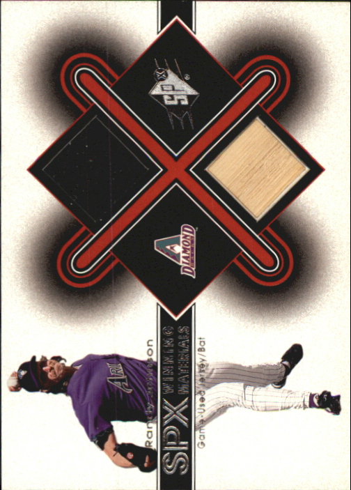2001 SPx Winning Materials Bat-Jersey #RJ2 Randy Johnson