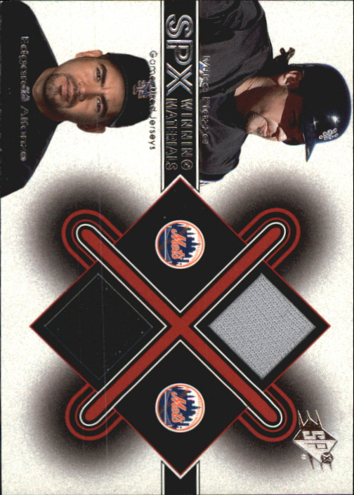 2001 SPx Winning Materials Update Duos #MPEA Mike Piazza/Edgardo Alfonzo