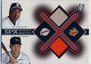 2001 SPx Winning Materials Update Duos #TGCR Tony Gwynn/Cal Ripken