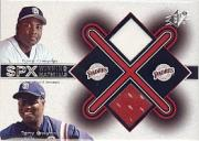 2001 SPx Winning Materials Update Duos #TGX2 Tony Gwynn/Tony Gwynn